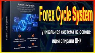 Forex Cycle System уникальная система на основе идеи спирали ДНК